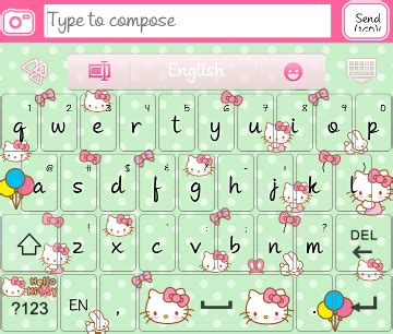 hello kitty themes keyboard hello kitty go keyboard skins android themes