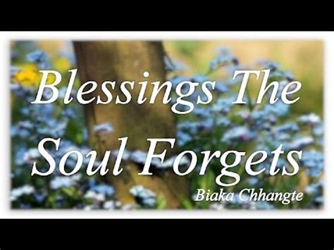 "vespers: ""blessings the soul forgets"" youtube"