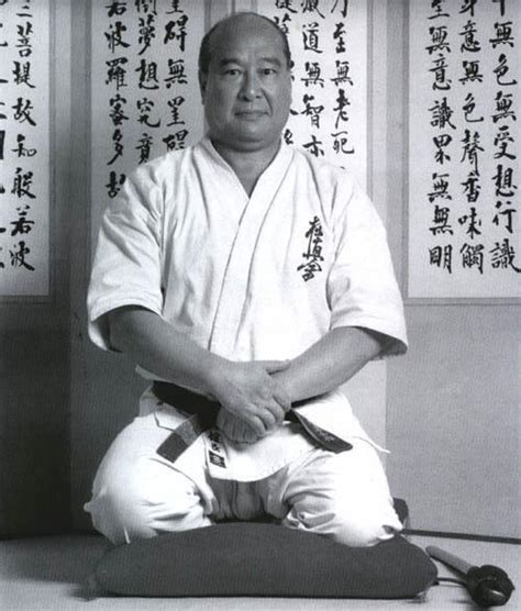 Teh Oyama caledonia kyokushin karate oyama