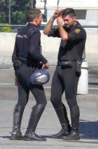 I can t decide which is more attractively distracting the butt on the left the bulge on the