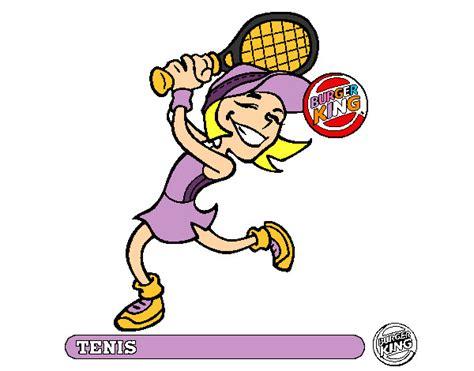 dibujos de niños jugando tenis dibujo de tenis leanvica pintado por leanvica en dibujos