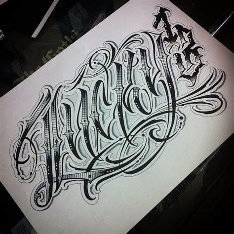 tattoo font ink in the meat lucky 13 quot script letters lettering script handstyles