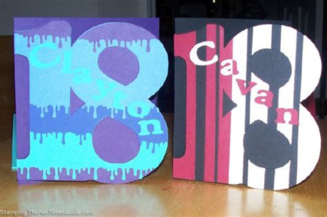 18th Birthday Card How To Make Cards Like Numbers 18th Birthday Cards For