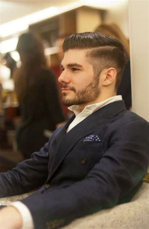 gentleman haircut business styles round face 30 trendy short beard styles to get the macho look