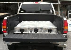Truck Bed Covers With Low Profile Tool Box Bb66 3lp Series Truck Bed Tool Box 3 Drawer 65 Quot L X 48 Quot W