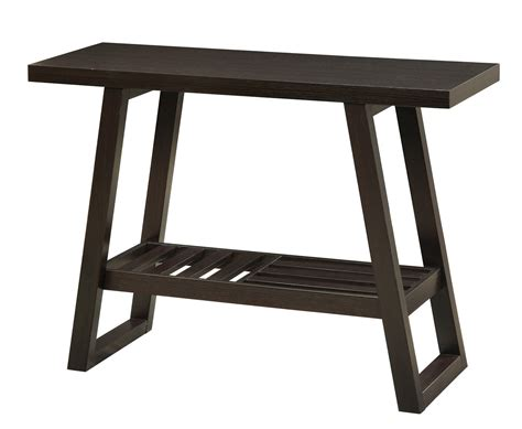 coaster sofa table coaster 701869 sofa table cappuccino 701869 at