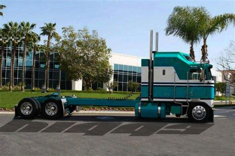 kw cabover kenworth aerodyne cabover rigs pinterest
