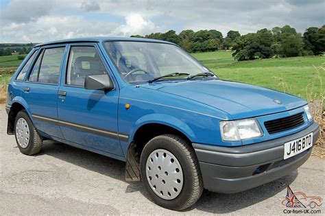 vauxhall blue vauxhall nova luxe blue 1991 only 13 000 miles amazing