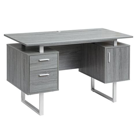 Modern Desk With Storage Modern Office Desk With Storage