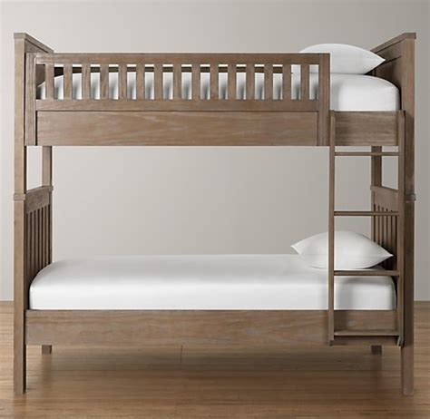 restoration hardware twin bed kenwood twin bunk bed 2 rosenthal den kids bedroom