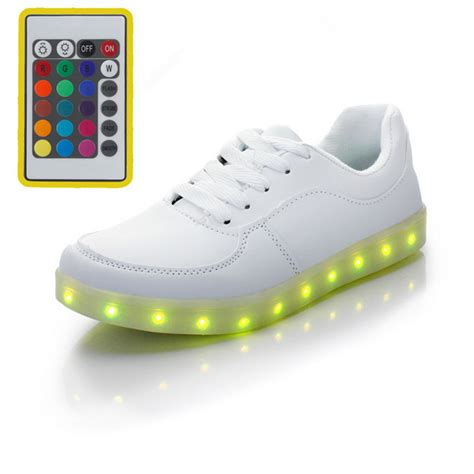 light up shoes with remote remote usb glowing sneakers light up shoes