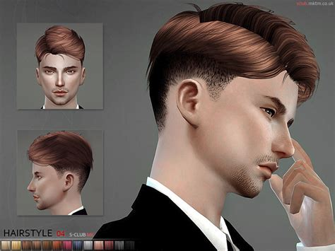 sims 4 male hairstyles s club mk ts4 hair n4