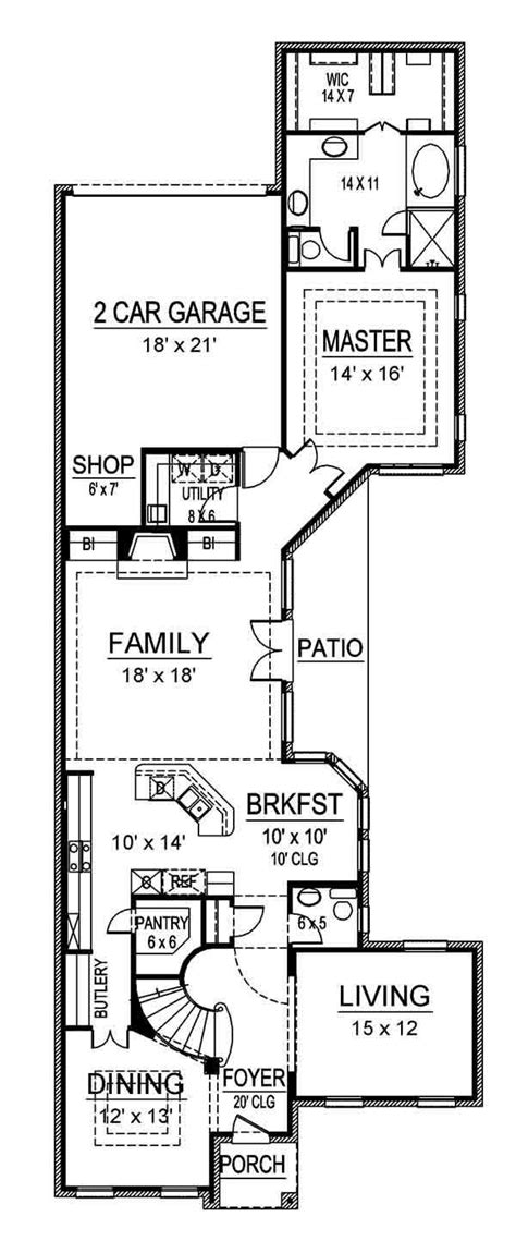 narrow block floor plans 17 best images about floorplan for reno on pinterest