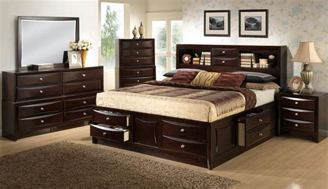 california king bookcase headboard lifestyle c0172 king california king storage bed w