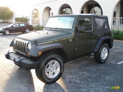 2008 jeep green metallic jeep wrangler x 4x4 5607466 gtcarlot car color galleries