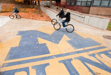 Um Flint Start Of New by Um Flint Named A Bicycle Friendly By The League