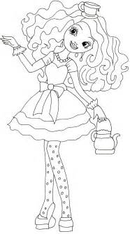 free printable coloring pages madeline hatter coloring