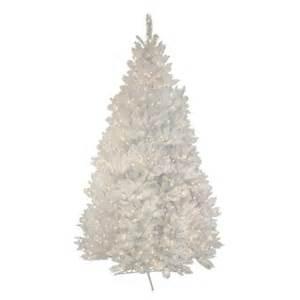 7 5 ft pre lit white alaskan fir christmas tree target