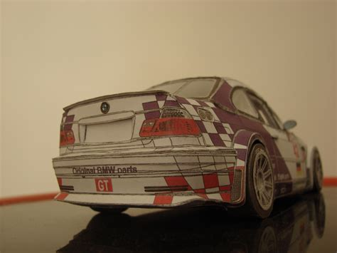 paper bmw m3 gtr by sina0 on deviantart