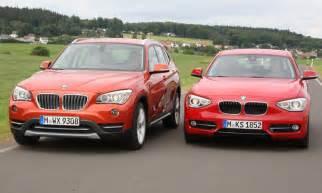 Bmw 1er X1 Vergleich by Suv Oder Limousine Bmw X1 Xdrive25d Und Bmw 125d Mit Neuem