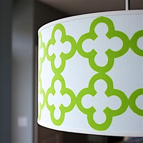 how to make a drum shade pendant light quatrefoil drum shade pendant light 183 how to make a l