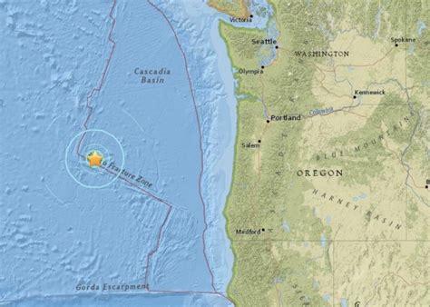 earthquake oregon strong earthquake strikes off oregon coast earth earthsky