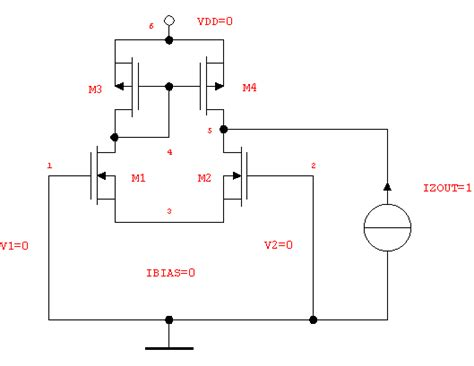 differential lifier capacitor input and output impedances