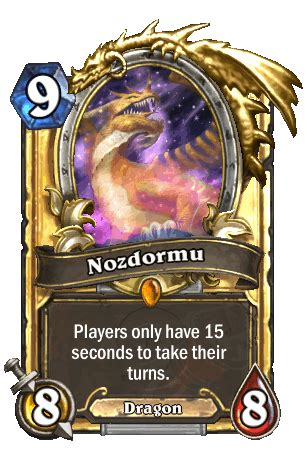 Hearthstone Legendary Card Template by Image Nozdormu Gif Hearthstone Heroes Of Warcraft