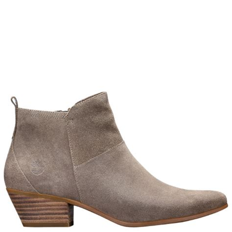 timberland s carleton side zip suede ankle boots