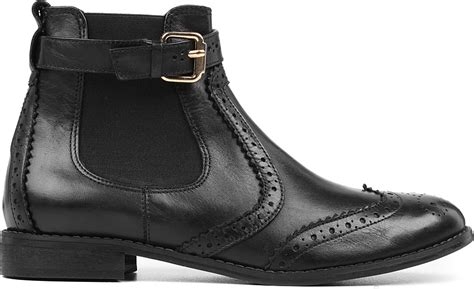 s low boots carvela kurt geiger leather ankle boots in black