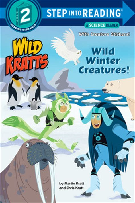 fliers kratts step into reading books step into reading winter creatures kratts