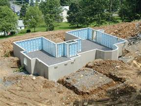 Poured Concrete House superior walls green from the ground up happenings