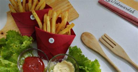 tips membuat kentang goreng renyah ala kfc resep membuat kentang goreng renyah ala kfc anti gagal
