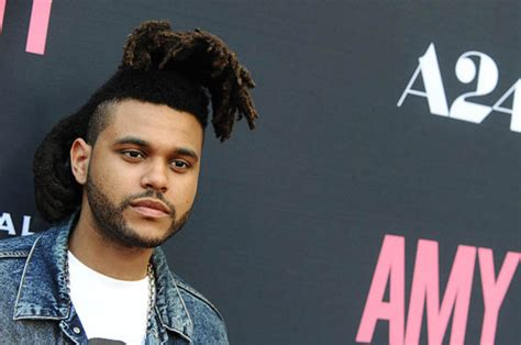 the weeknd s hair hair we fro taylor swift likes the weeknd s hair daily star