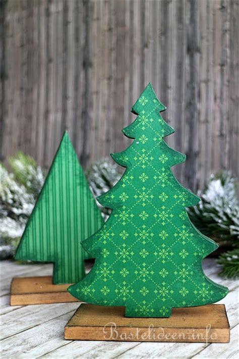 Bastelvorlage Weihnachtsbaum Papier by Winterbasteln Mit Holz Weihnachtsbaum Aus Holz