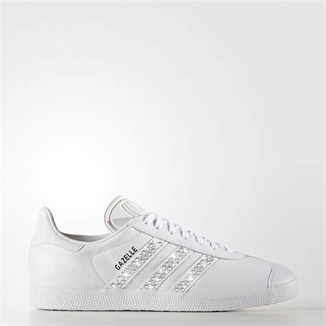 Brautschuhe Wei Glitzer by Sneaker Adidas Gazelle Glitzer Wei 223 Leia