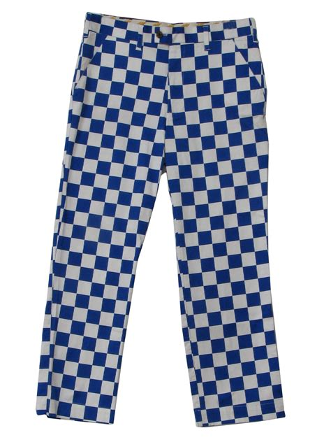 1970s Home Decor by Retro 90 S Pants 90s Loud Mouth Mens Royal Blue And