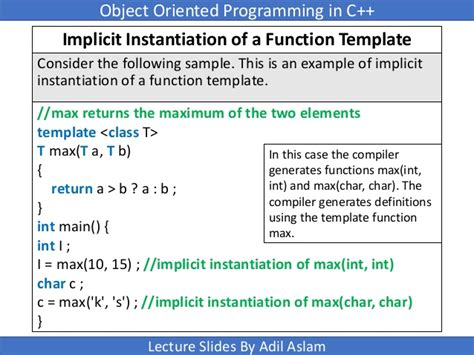 Implicit Instantiation Of Undefined Template templates in c