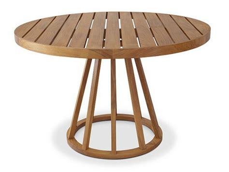 tavoli rotondi da giardino tavolo da giardino da pranzo rotondo in teak