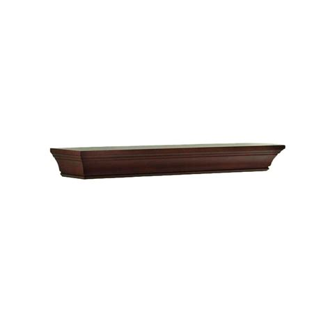 home decorative collection home decorators collection 36 in w x 36 in l chestnut decorative beveled shelf sk17070b the