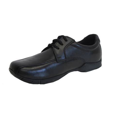 boys hush puppies hush puppies boys shoe vincente black leather