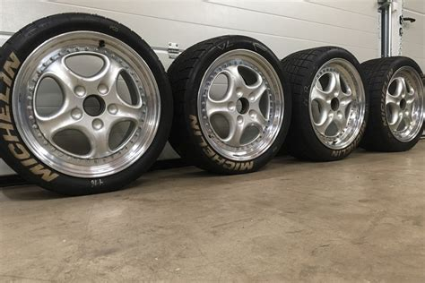porsche 993 wheels for sale racecarsdirect two porsche speedline 993 cup wheels