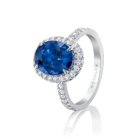 Sapphire Blue Ring ceylon blue sapphire engagement ring david morris the