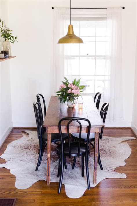 small living room with dining table a tiny and charming cottage in nashville tn design sponge
