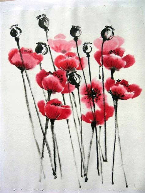 calligraphy poppies and groningen on