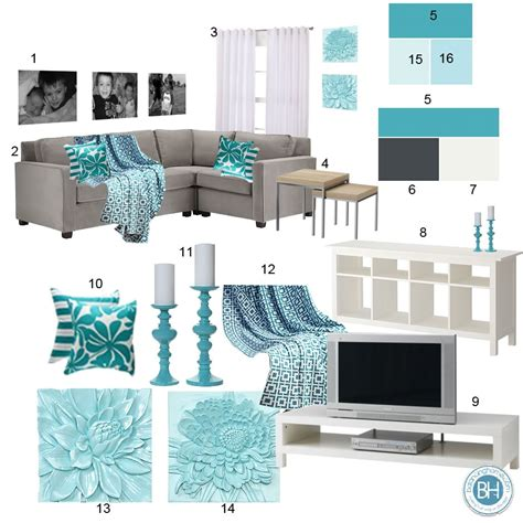 Teal Room Decor Beautiful Teal Living Room Decor Homesfeed