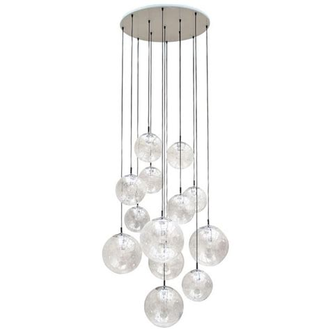 Pendant And Chandelier Lighting Impressive Extra Large Glass Ball Chandelier By Raak