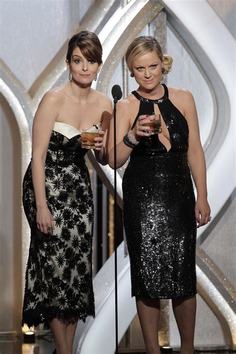 Golden Globes The Of Lost by Tina Fey And Poehler Pretended To Be After They