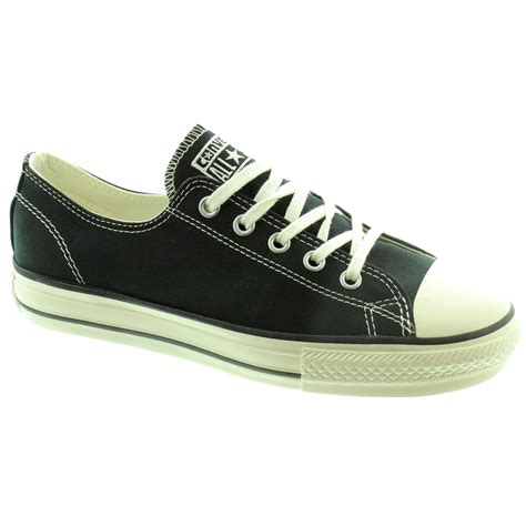 Converse Shoes High Black converse high line lace shoes in black in black