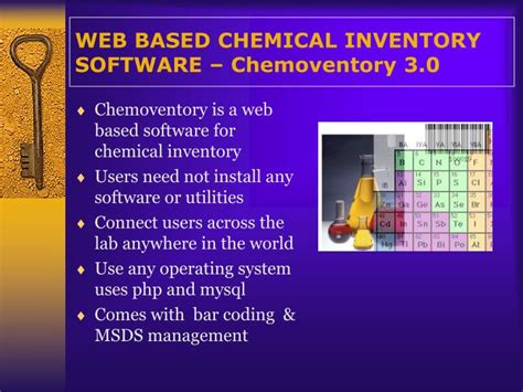 Web Based Outliner Software by Ppt Web Based Chemical Inventory Software Chemoventory 3 0 Powerpoint Presentation Id 343016